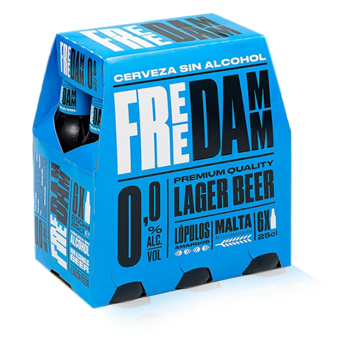 Cervesa Free Damm Ampolla Vidre 25cl