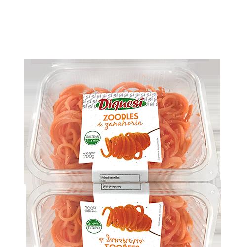 Zoodles Pastanaga (200 g) DiQueSi