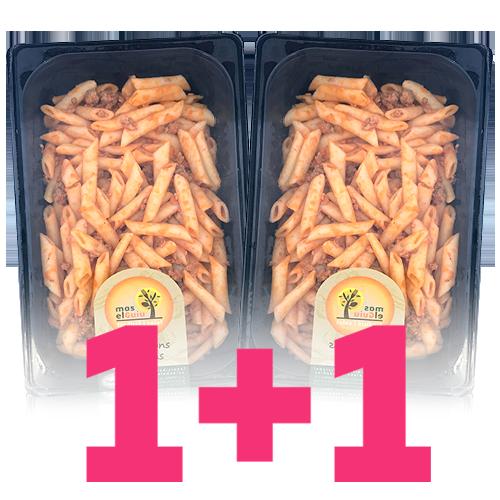 1+1 Macarrones Caseros (500 g) Mas el Guiu
