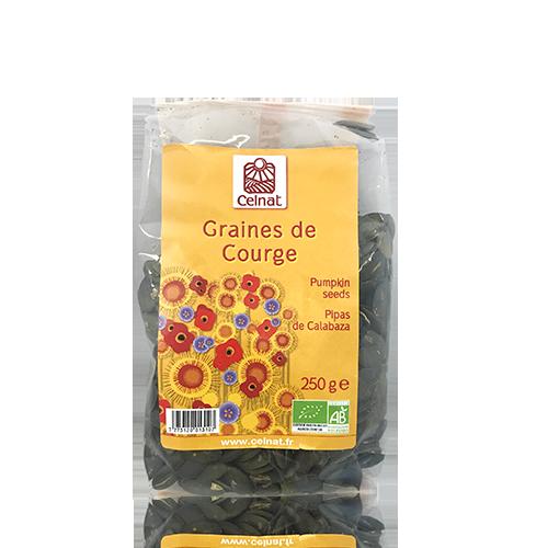 Pipas de Calabaza Bio (250 g) Celnat