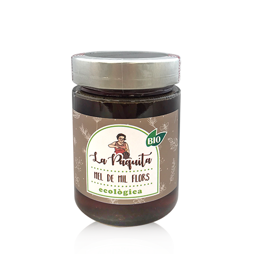 Miel Mil Flores Bio (470 g) La Paquita
