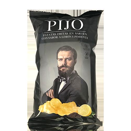 Patates Fregides Llimona i Pebre (130 g) Pijo