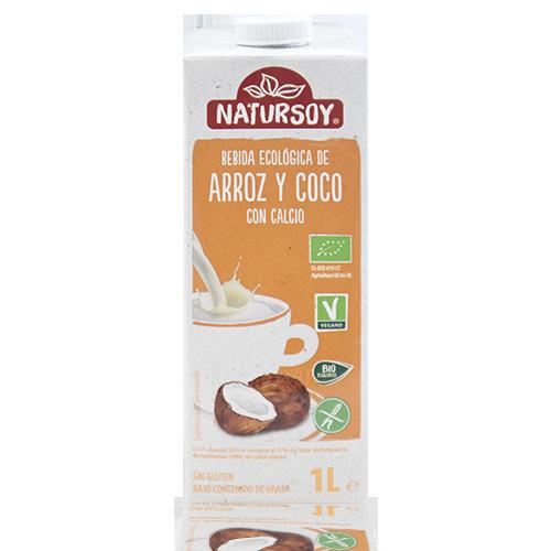 Beguda d'Arròs i Coco (1 l) Natursoy