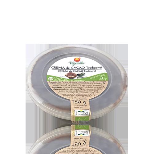 Crema de Cacau Tradicional (150 g) Vegetalia