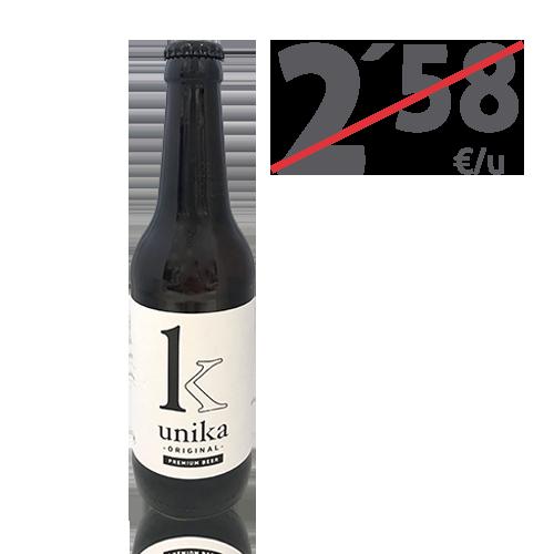 Cervesa Unika Original (33 cl)