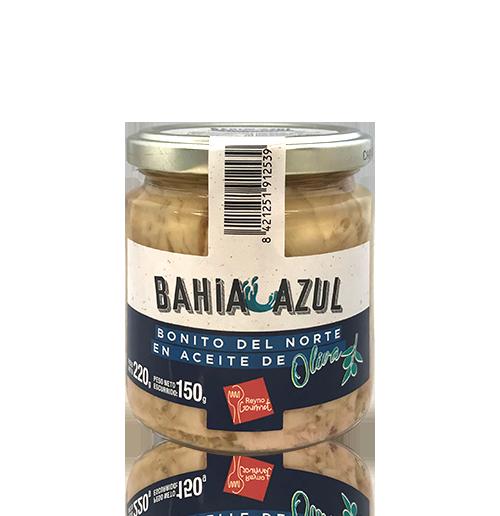 Bonito del Norte Lomo con Aceite de Oliva (250 ml) Bahía Azul