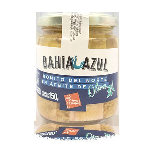 Bonítol del Nord Llom amb Oli d'Oliva (220 g) Bahía Azul