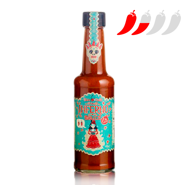 Salsa Picant Inferno Ligera (165 g) Mic's Chilli