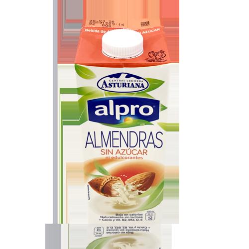 Bebida de Almendras Sin Azúcar (1 L) Alpro
