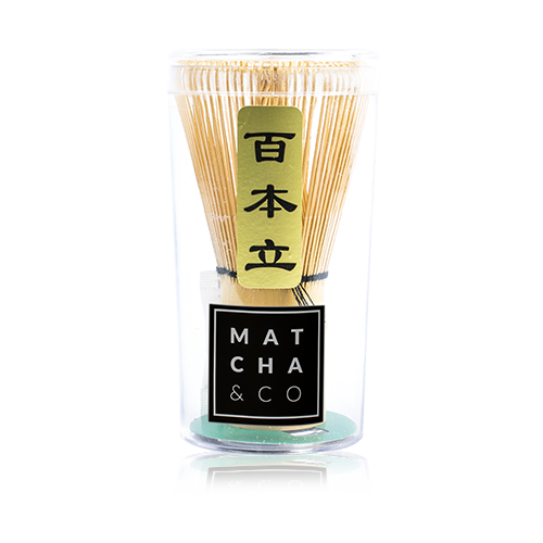 Batedor de Bambú Matcha & Co