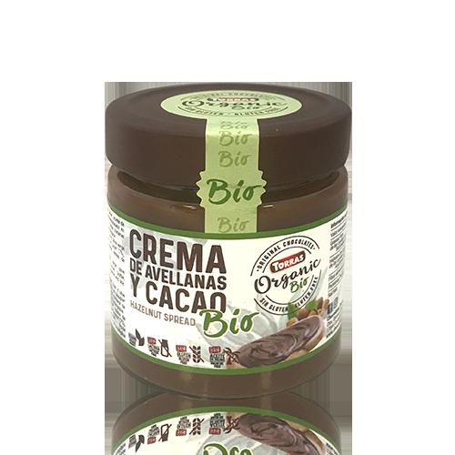 Crema Cacau i Avellana amb Oli d'Oliva (200 g) Torra