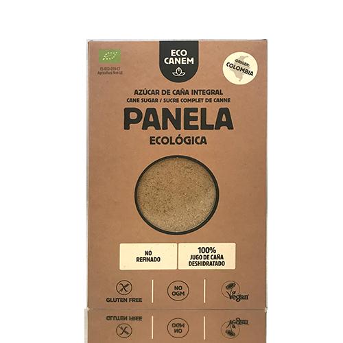 Sucre de Canya Integral de Panela Bio (500 g) EcoCanem