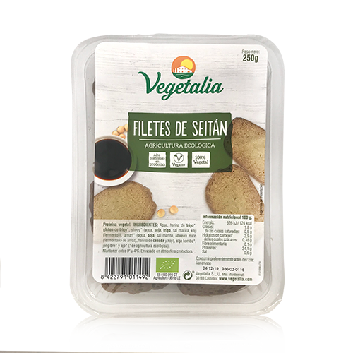 Filets de Seità Bio (250 g) Vegetalia