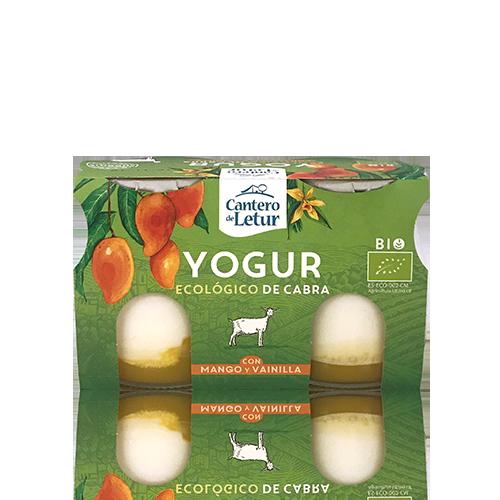 Yogur de Cabra Mango y Vainilla Bio  (2x125 g) Cantero de Letur