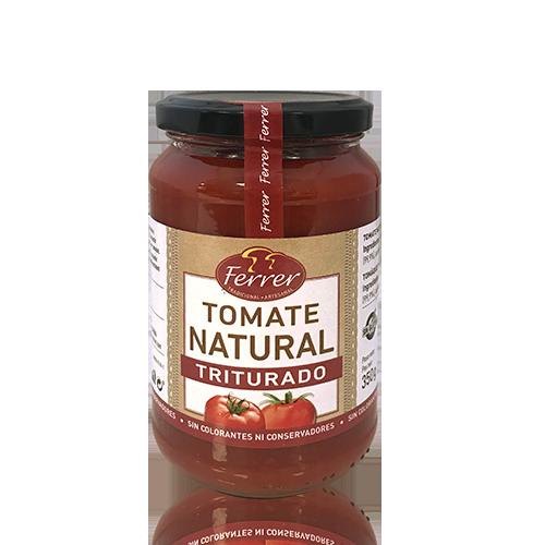 Tomàquet Natural Triturat (350 g) Ferrer