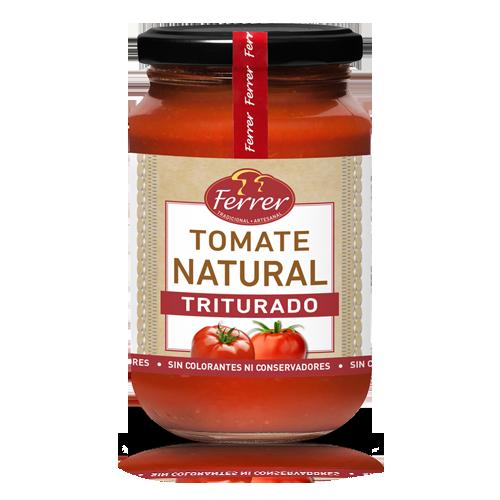 Tomate Natural Triturado (350 g) Ferrer
