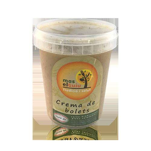 Crema de bolets (0,5 l) Mas el Guiu