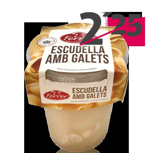 Sopa Escudella amb Galets (495 g) Ferrer
