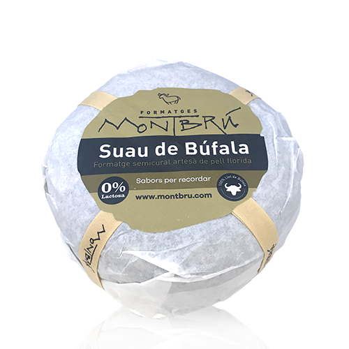 Formatge de Búfala Semicurat Suau (1 kg) Montbrú
