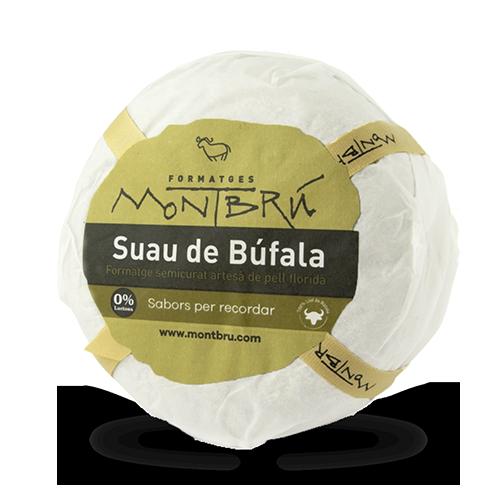 Queso de Búfala Semicurado Suave (1 kg) Montbrú UNIDAD