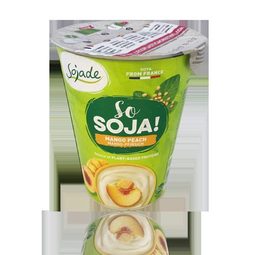 Postres de Soja Mango i Préssec Bio (400 g) Sojade