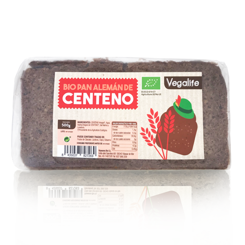 Pa Alemany de Sègol (500 g) Vegalife