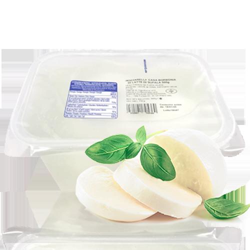 Mozzarella di latte di Bufala (500 g) Borbonia