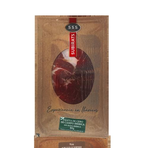 Espatlla Ibèrica de Cebo de Campo (80 g) Subirats
