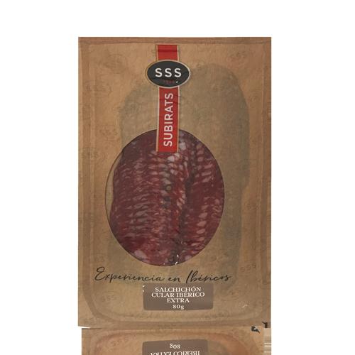 Salchichón Ibérico Extra (80 g) Subirats