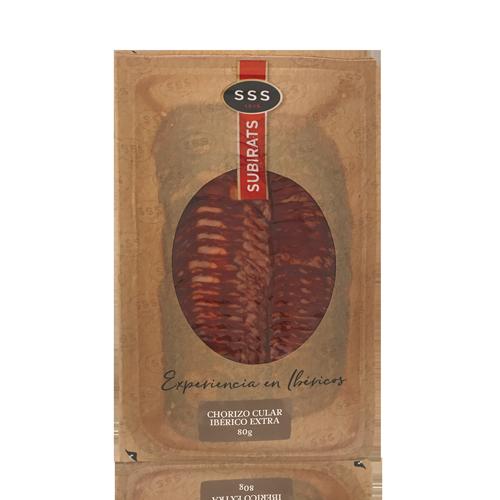Chorizo Ibérico Extra (80 g) Subirats