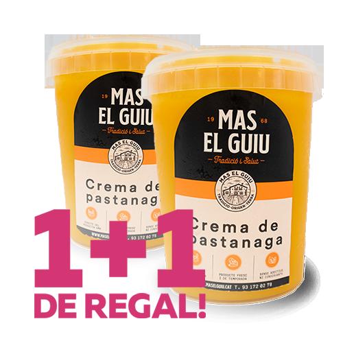 1+1 Crema de Pastanaga (0.5 l) Mas el Guiu