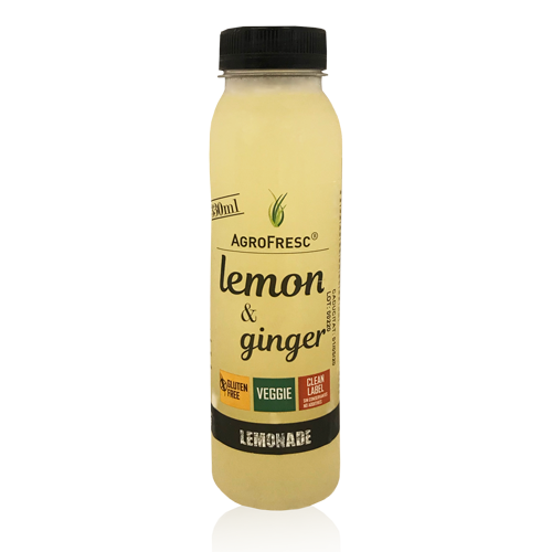 Limonada con Jengibre (330 ml) Agrofresc