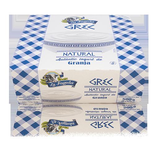 Iogurt Natural Grec (125 gx 4) La Fageda