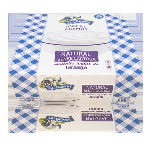 Iogurt Natural Sense Lactosa (125g x4) La Fageda