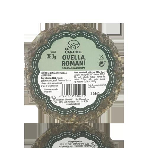 Formatge d'Ovella Romaní (380 g) El Canadell
