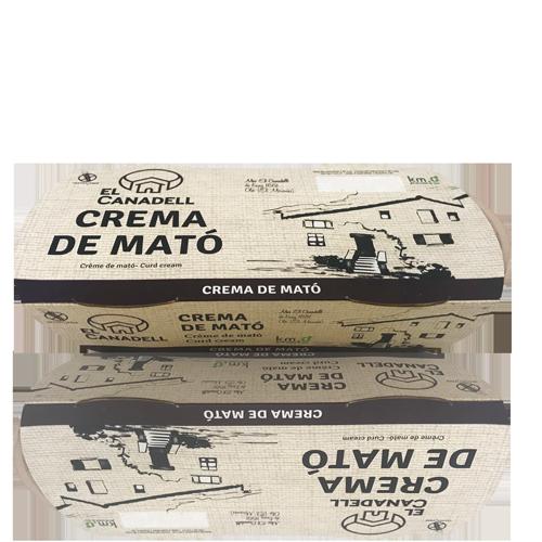 Crema de Mató (2x120 g) El Canadell