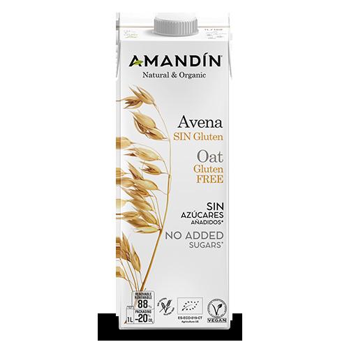 Beguda de Civada Sense Gluten Bio (1 L) Amandin