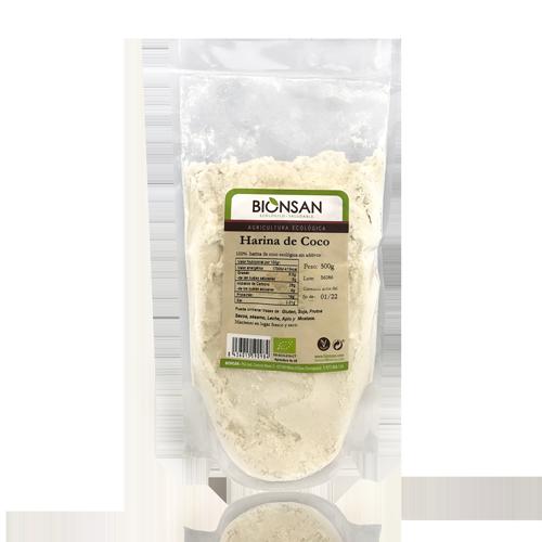 Farina de Coco Bio (500 g) Bionsan
