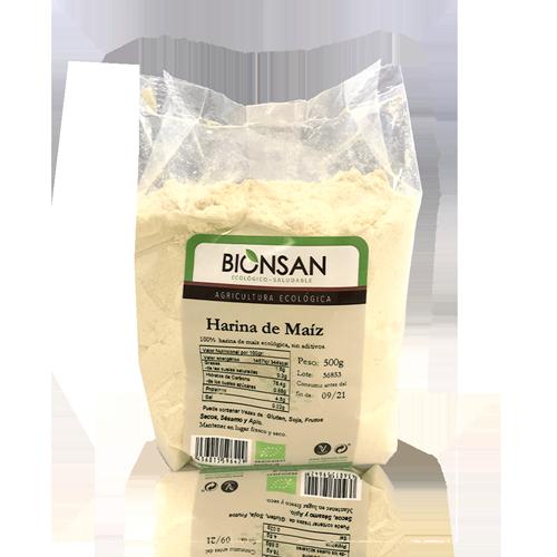 Harina de Maíz Bio (500 g) Bionsan