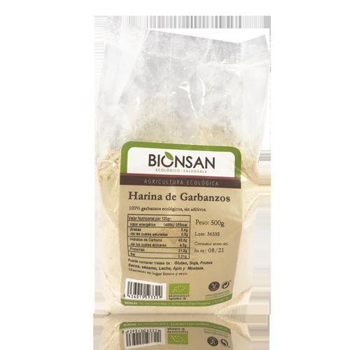 Harina de Garbanzos Bio (500 g) Bionsan
