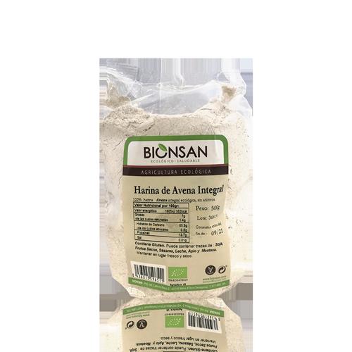 Farina de Civada Bio (500 g) Bionsan