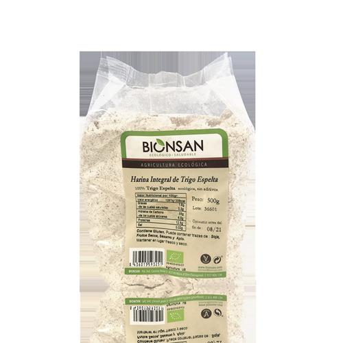 Harina de Espelta Integral Bio (500 g) Bionsan