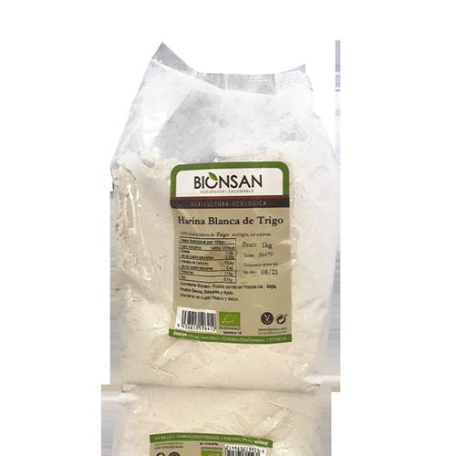 Harina de Trigo Blanca Bio (1 kg) Bionsan