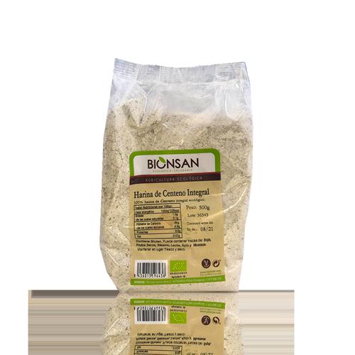 Harina de Centeno Bio (500 g) Bionsan