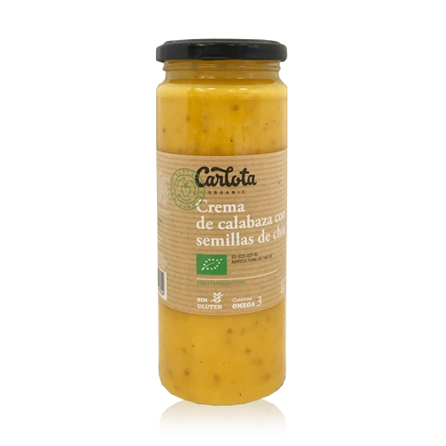 Crema de Calabaza con Chía Bio (450 g) Carlota