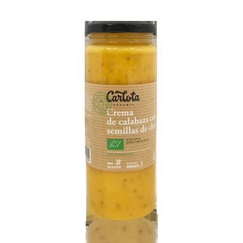 Crema de Carbassa amb Chia Bio (450 g) Carlota