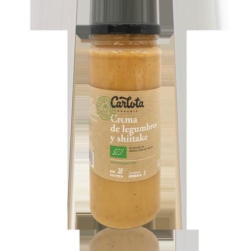 Crema de Llegums amb Xiitake Bio (450 g) Carlota