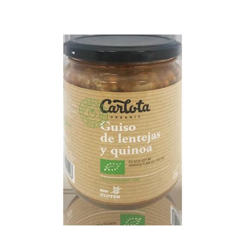 Guiso de Lentejas y Quinoa Bio (425 g) Carlota