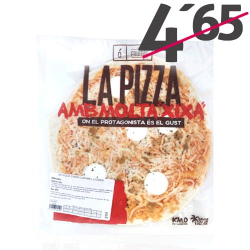 Pizza Formatge Cabra i Ceba Caramel·litzada (365 g) Cal Fruitós