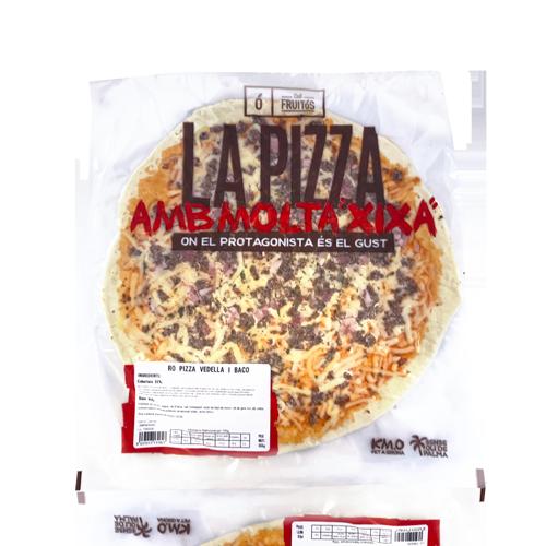 Pizza Vedella i Bacon (355 g) Cal Fruitós